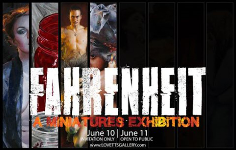 Fahrenheit - Exhibition at Lovetts Gallery in Tulsa