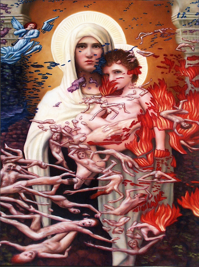 Madonna. Child and Hell