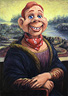 A Self-Portrait by Howdy DooVinci