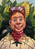 Howdy Frida Doody with Necklace of Thorns