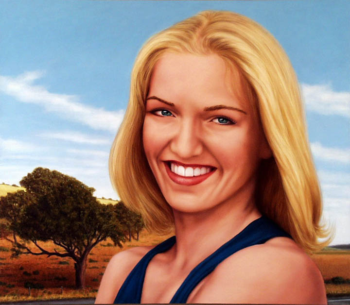 """oil on canvas, 22"""" x 42"""", 2000, private collection"""